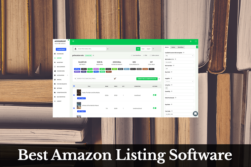 Best Amazon Listing Software