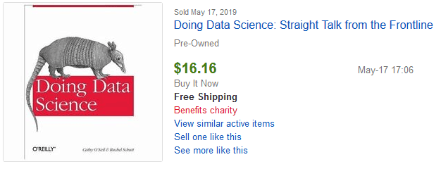 data science ebay sale